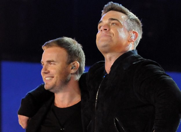 Gary Barlow i Robbie Williams znów razem w Take That - fot. Jim Dyson /Getty Images/Flash Press Media