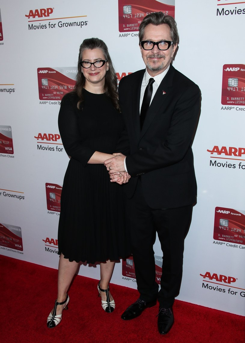 Gary Oldman z żoną numer pięć - Gisele /East News