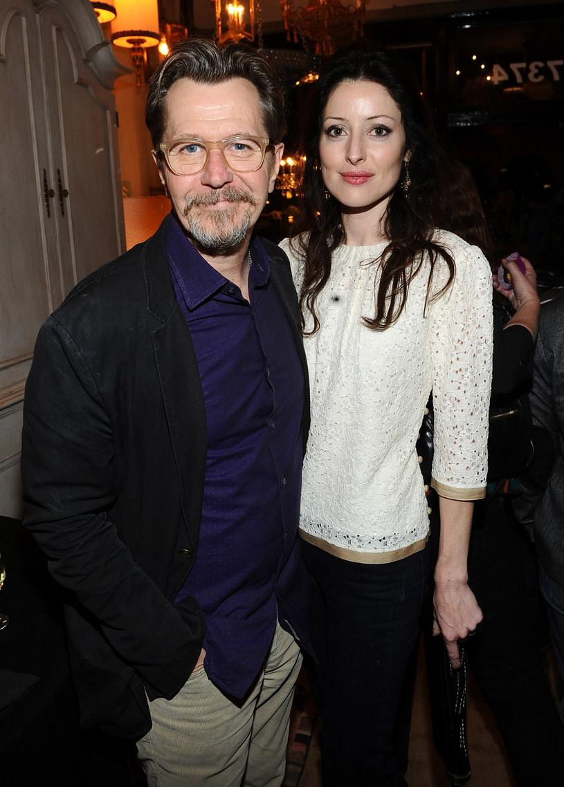 Gary w towarzystwie swojej czwartej żony /Getty Images