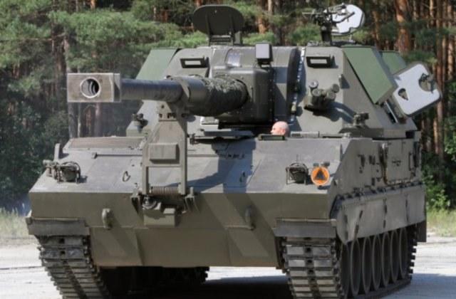 Gąsienicowa wersja armatohaubicy Krab /Polska Zbrojna