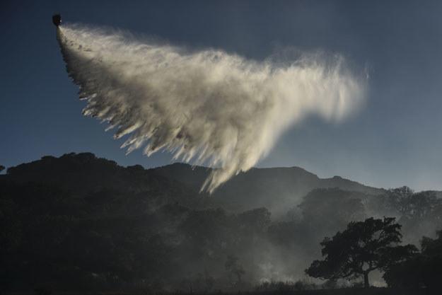 Gaszenie płonących lasów w Hiszpanii /PEDRO ARMESTRE /AFP