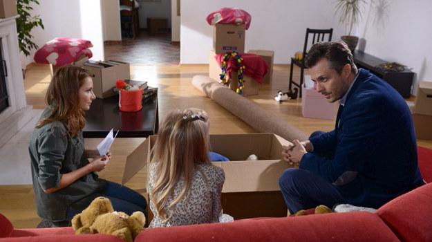 Gawryło zaproponuje, by Magda z ich córką wprowadziła się do niego /  /Agencja W. Impact