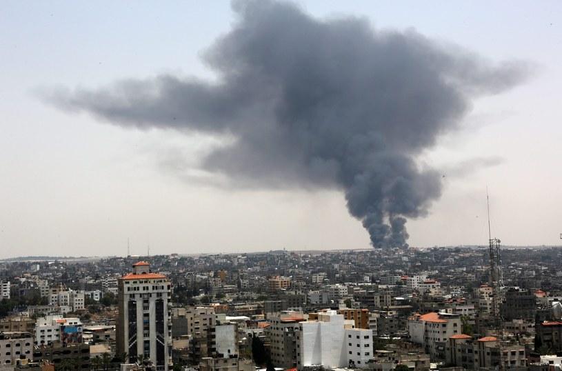 Gaza /MOHAMMED SABER  /PAP/EPA