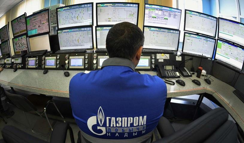 Gazprom dawkuje gaz do Europy /ALEXANDER NEMENOV /AFP