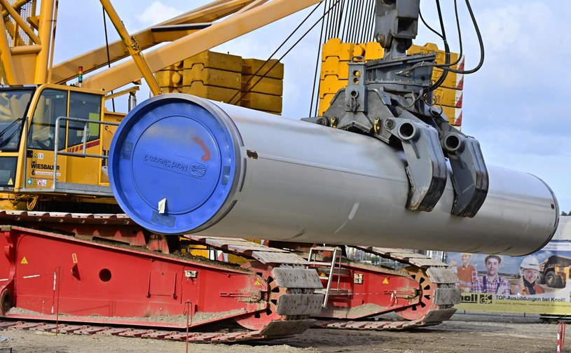 Gazprom ma coraz większe kłopoty z zakończeniem budowy Nord Stream 2 /AFP
