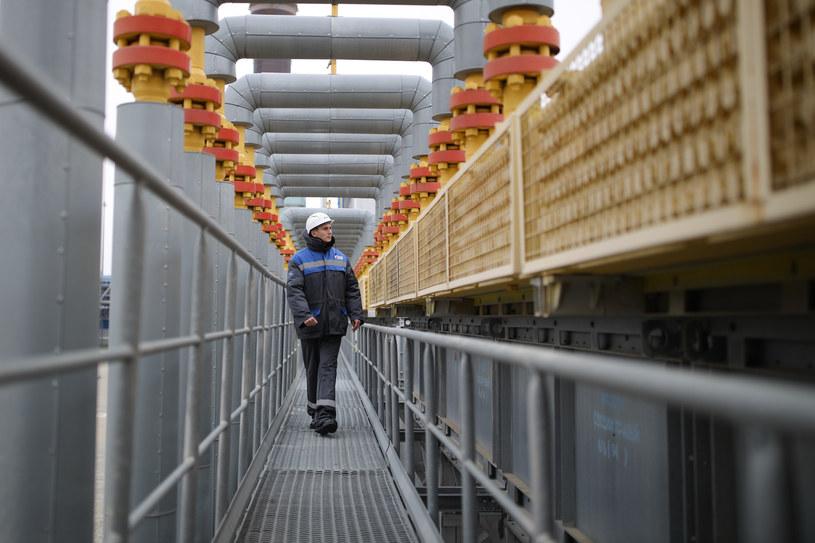 Gazprom ostro przyspiesza eksport surowca /Vitaly TIMKIV /East News