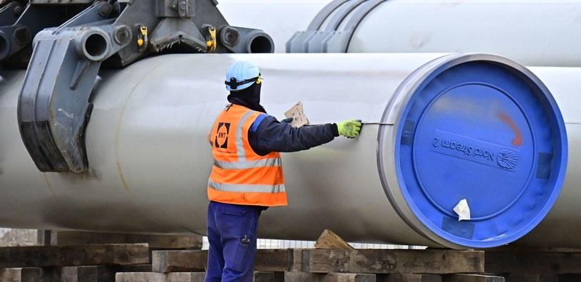 Gazprom ostrzega inwestorów przed możliwością wstrzymania Nord Stream 2 /AFP