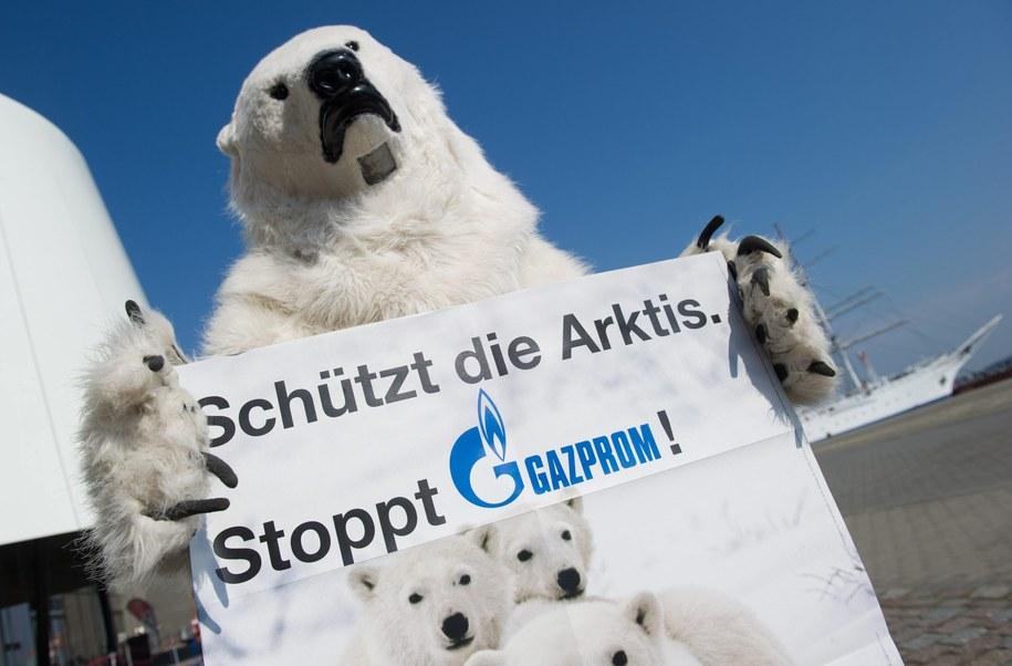 Gazprom pod koniec grudnia informował o rozpoczęciu eksploatacji swojego pierwszego pola naftowego w Arktyce /Stefan Sauer    /PAP/EPA