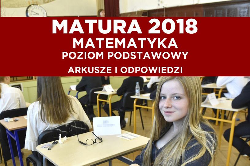 Gdańsk, Egzamin maturalny z języka polskiego w III Liceum Ogólnokształcącym /Maciej Kosycarz /Reporter