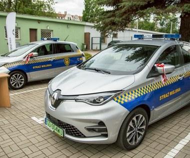 Gdańsk kupił dwa elektryczne radiowozy. Za 360 tys. zł
