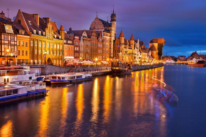 Gdańsk nocą /123RF/PICSEL