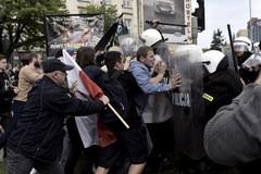 Gdańsk: Przepychanki na Marszu Równości