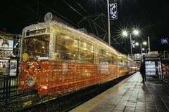 Gdańsk: Świąteczny tramwaj ruszył w trasę!