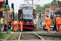 Gdańsk: 10 osób poszkodowanych po zderzeniu tramwajów