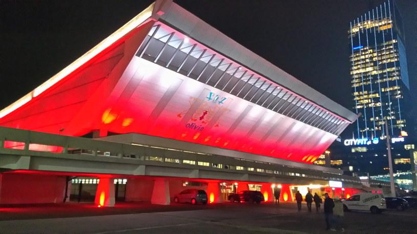 Gdańska hala Olivia na biało-czerwono. Polska gra w turnieju o Puchar Niepodległości /Mirosław Ząbkiewicz /INTERIA.PL