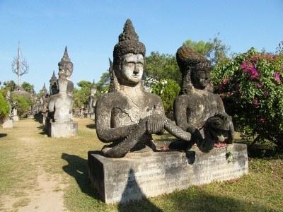 Gdy będziesz w Vientian, koniecznie odwiedź Park Buddy na południe od miasta  /© Panthermedia