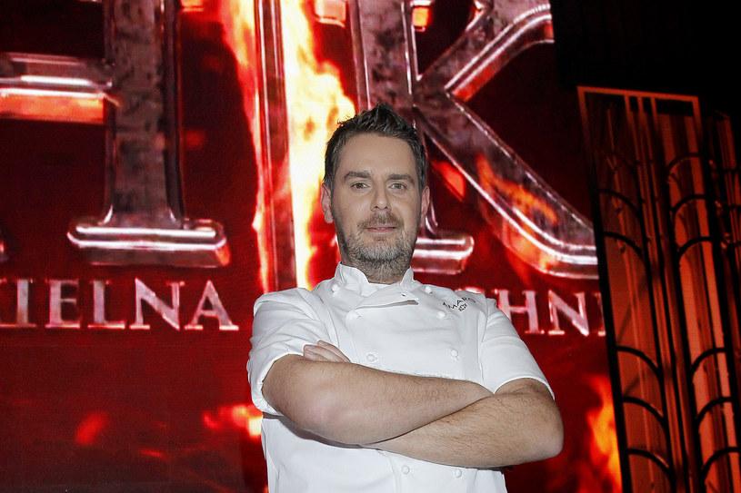 Gdy dowiedział się, że jego restauracja Atelier Amaro dostała gwiazdkę Michelin, płakał jak bóbr. - To była prawdziwa ulga i radość - wspomina dziś ten moment /Jordan Krzemiński /AKPA