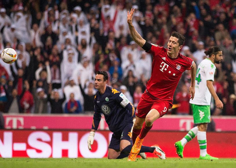 Gdy Lewandowski strzelał pięć goli Wolfsburgowi, też wracał do gry po kontuzji. Jak będzie tym razem? /Adam Pretty /Getty Images
