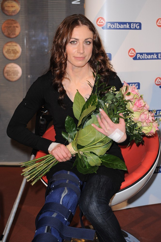 Gdy ostatnim biegu w Szwecji przyleciała do Warszawy, z lotniska trafiła prosto na stół operacyjny /Piotr Wygoda /East News