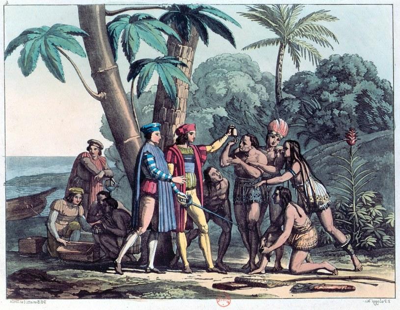 Gdy tylko Kolumb znikał za horyzontem, jego ludzie brali się za plądrowanie i nękanie kobiet /East News