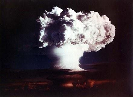 Gdyby bomba wodorowa wybuchła, wyglądałoby to tak... /AFP