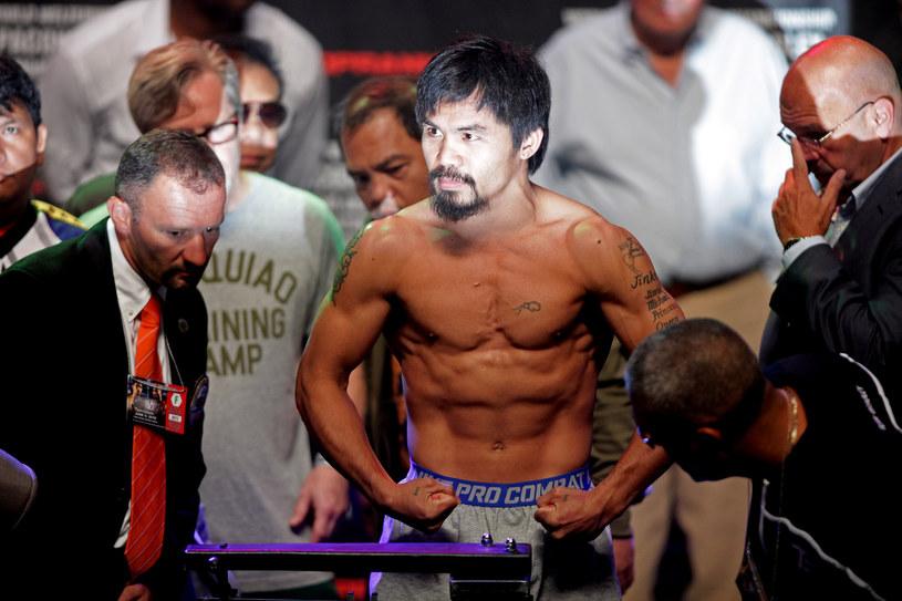 Gdyby nie ryż, Pacquiao nigdy nie zostałby wielkim bokserem /AFP