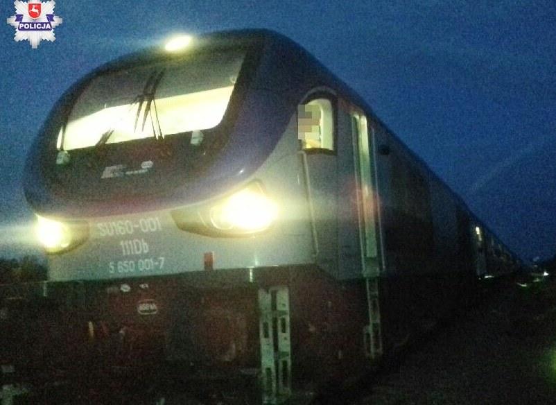 Gdyby pociąg nadjechał odrobinę wcześniej doszłoby do tragedii /