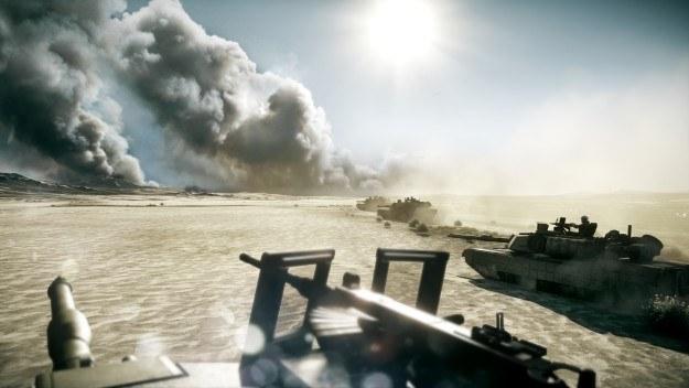Gdyby walki czołgami w World of Tanks wyglądały tak realistycznie jak w Battlefield 3... /Informacja prasowa