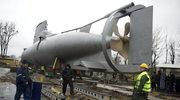 Gdynia: Lądowa podróż okrętu podwodnego