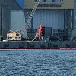 Gdynia: Samochód wjechał do wody. W środku znaleziono ciało