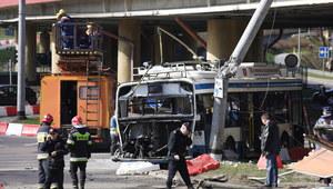 Gdynia: Tir zderzył się z trolejbusem