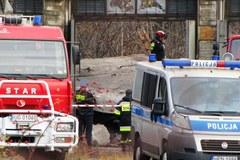 Gdynia: Zawalił się strop dawnej bazy paliwowej