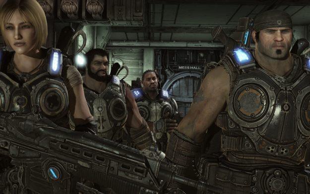 Gears of War 3 - motyw graficzny /Informacja prasowa