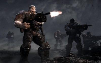 Gears of War 3 - motyw z gry /Informacja prasowa