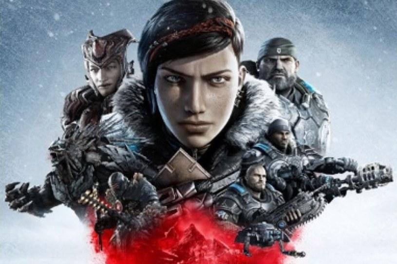 Gears of War 5 - fragment domniemanej okładki gry /materiały prasowe