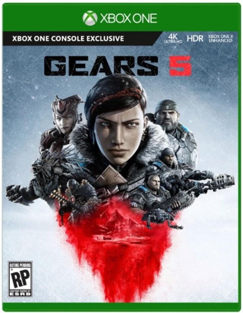Gears of War 5 - tak prawdopodobnie będzie wyglądać okładka gry /materiały prasowe