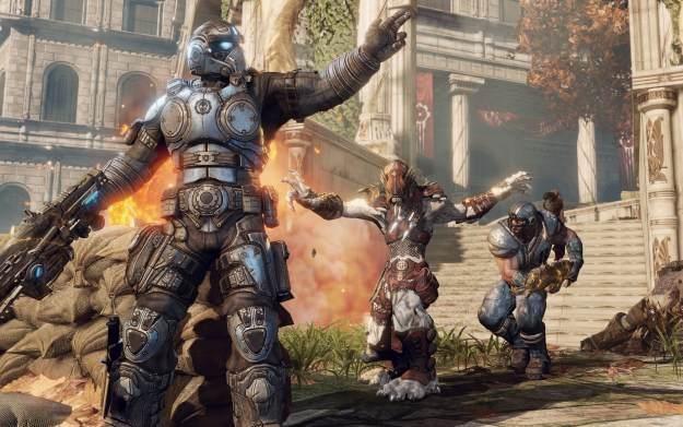 Gears of War: Fenix Rising - motyw graficzny /Informacja prasowa