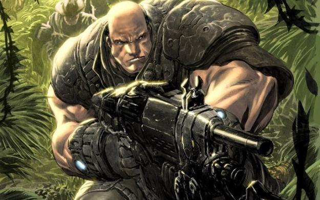 Gears of War: Unseen - fragment okładki komiksu /Informacja prasowa