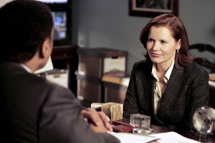 """Geena Davis w serialu """"Pani Prezydent"""" (2005) /materiały dystrybutora"""