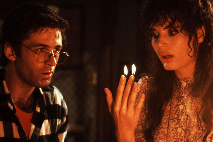 """Geena w słynnym filmie Tima Burtona """"Sok z żuka"""" (1988) /materiały dystrybutora"""