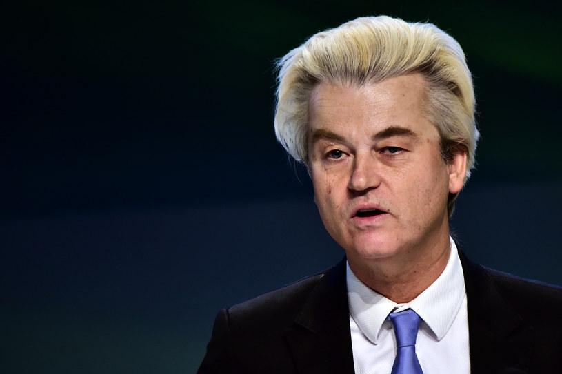 """Geert Wilders określił wyrok słowem: """"Szaleństwo"""" /AFP"""