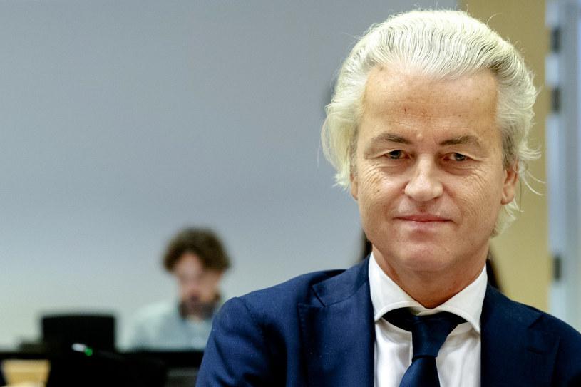 Geert Wilders zamierza ogłosić konkurs karykatur Mahometa /SANDER KONING    /AFP