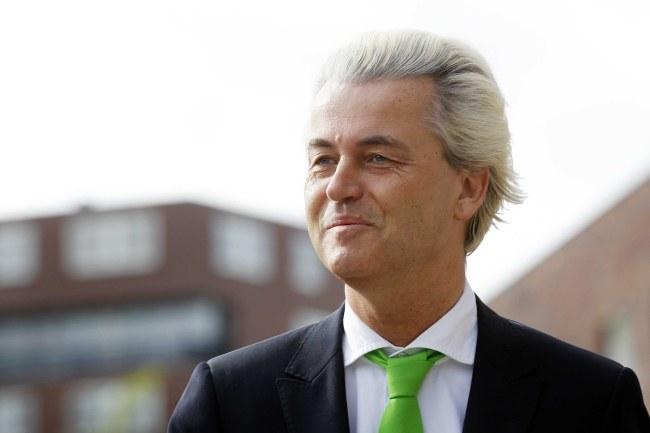 Geert Wilders /PAP/EPA/BAS CZERWINSKI /PAP/EPA