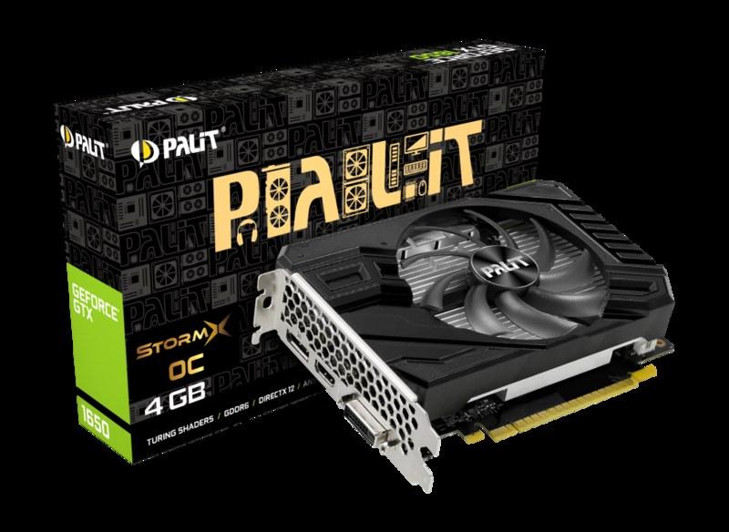 GeForce 1650 StromX OC /materiały prasowe