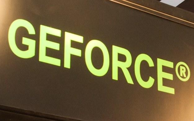 GeForce - logo marki /123RF/PICSEL
