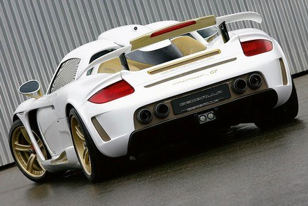 Gemballa mirage mt gold edition /