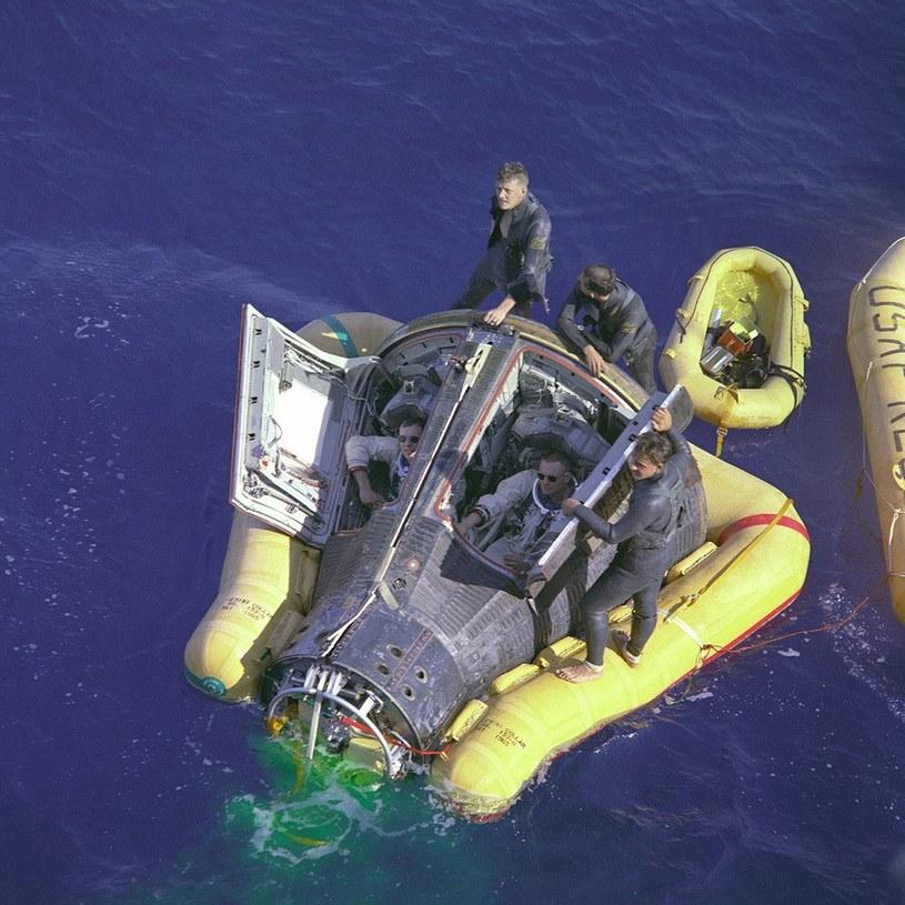 Gemini 8 po zakończeniu misji /NASA