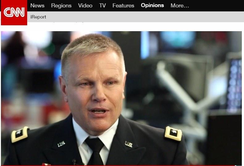 Gen. Allen Batschelet, zdjęcie pochodzi ze strony CNN /INTERIA.PL