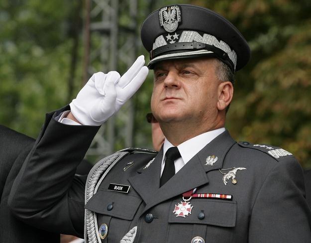 Gen. Andrzej Błasik, fot. S. Maszewski /Reporter