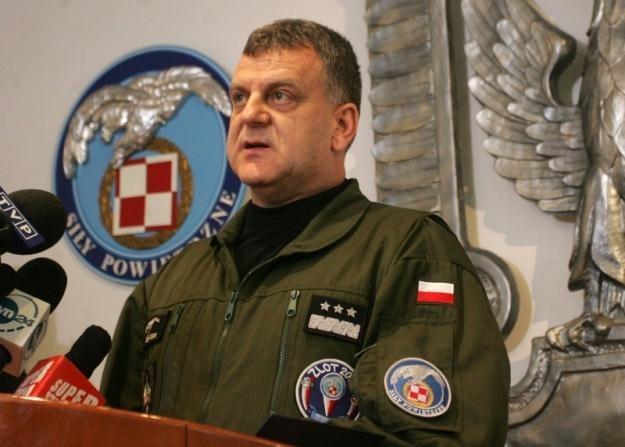 Gen. Andrzej Błasik / fot. W. Rozbicki /Reporter